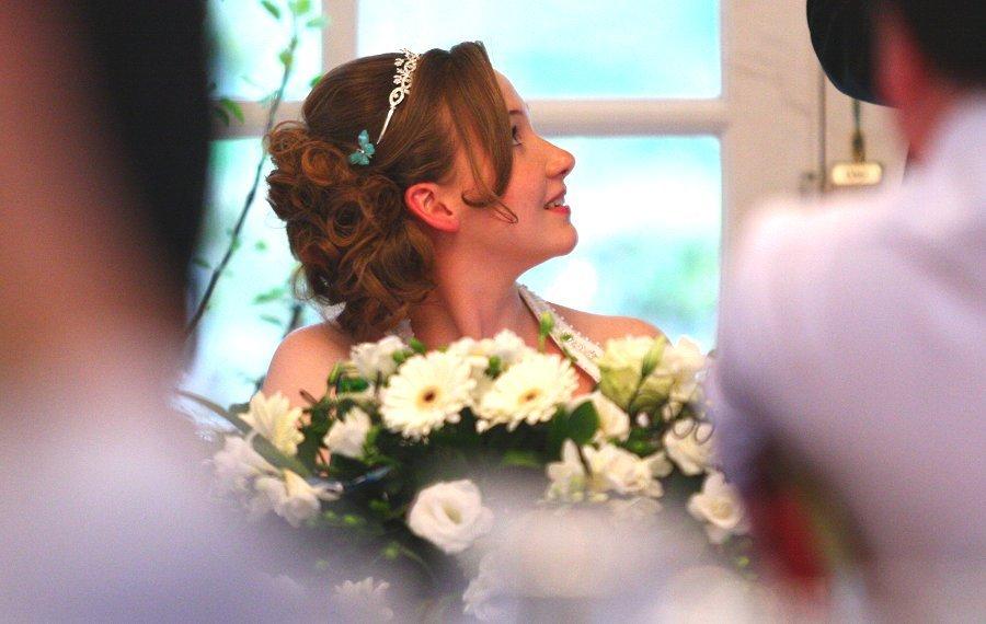 Our nephew, David's new bride Bertie.  At the Two Bridges Hotel.