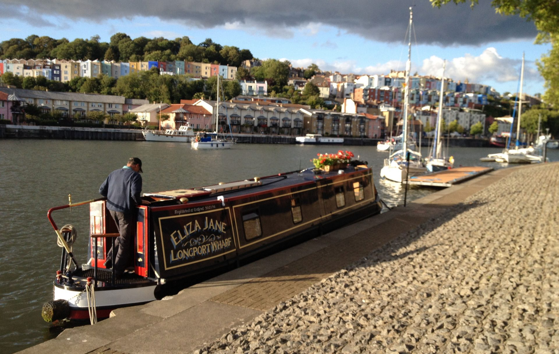Bristol by the Harbourmaster's Office.