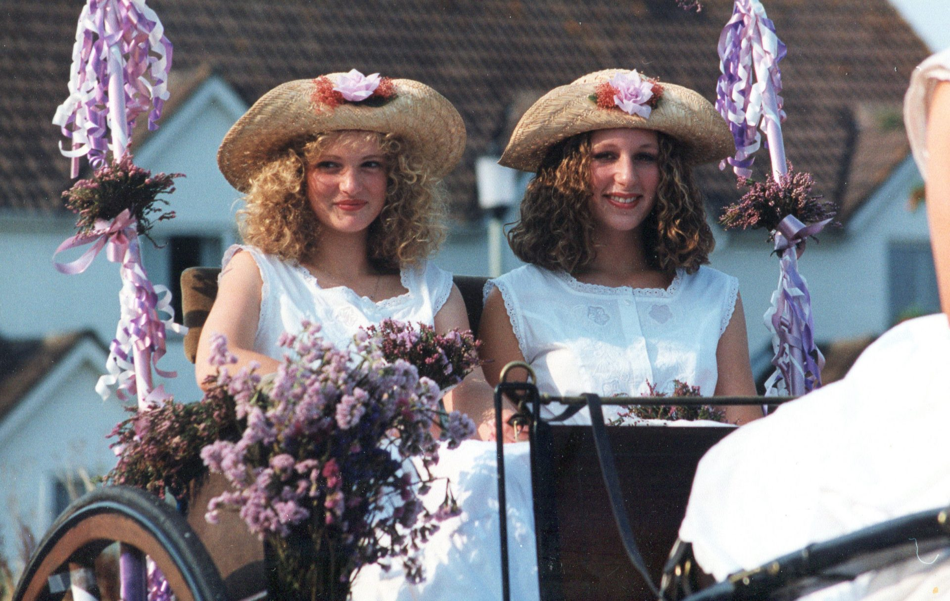 Chagford Carnival sometime in the Nineties.