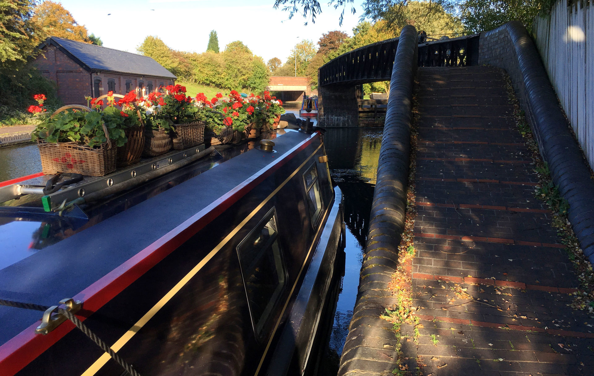 Nb Chrissie at the Black Country Museum moorings.