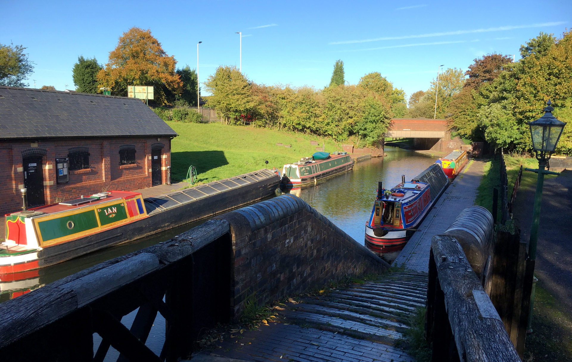 The wharf at the Black Country in Dudley.