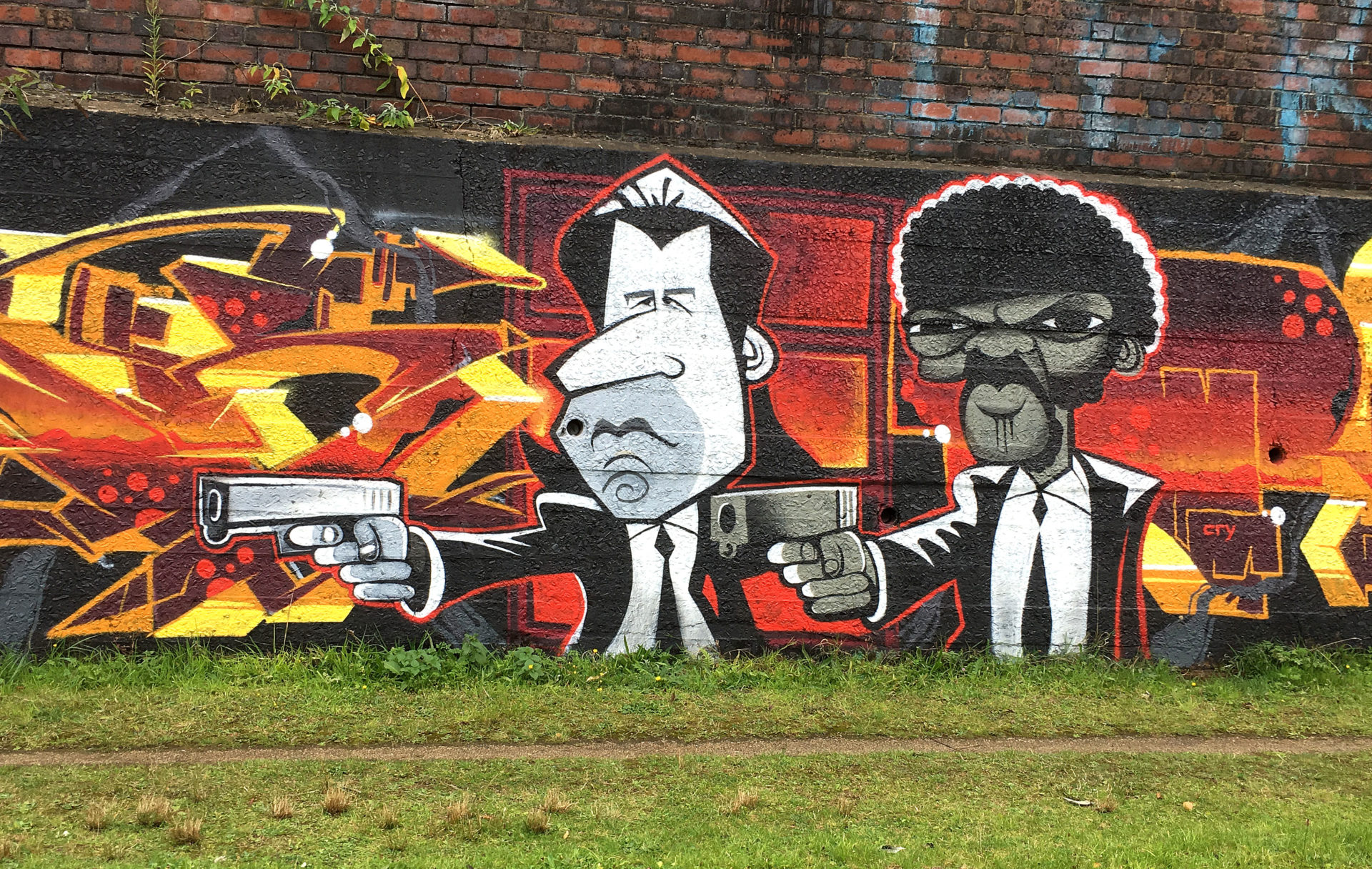 Graffiti in the Midlands. Now where was it ?