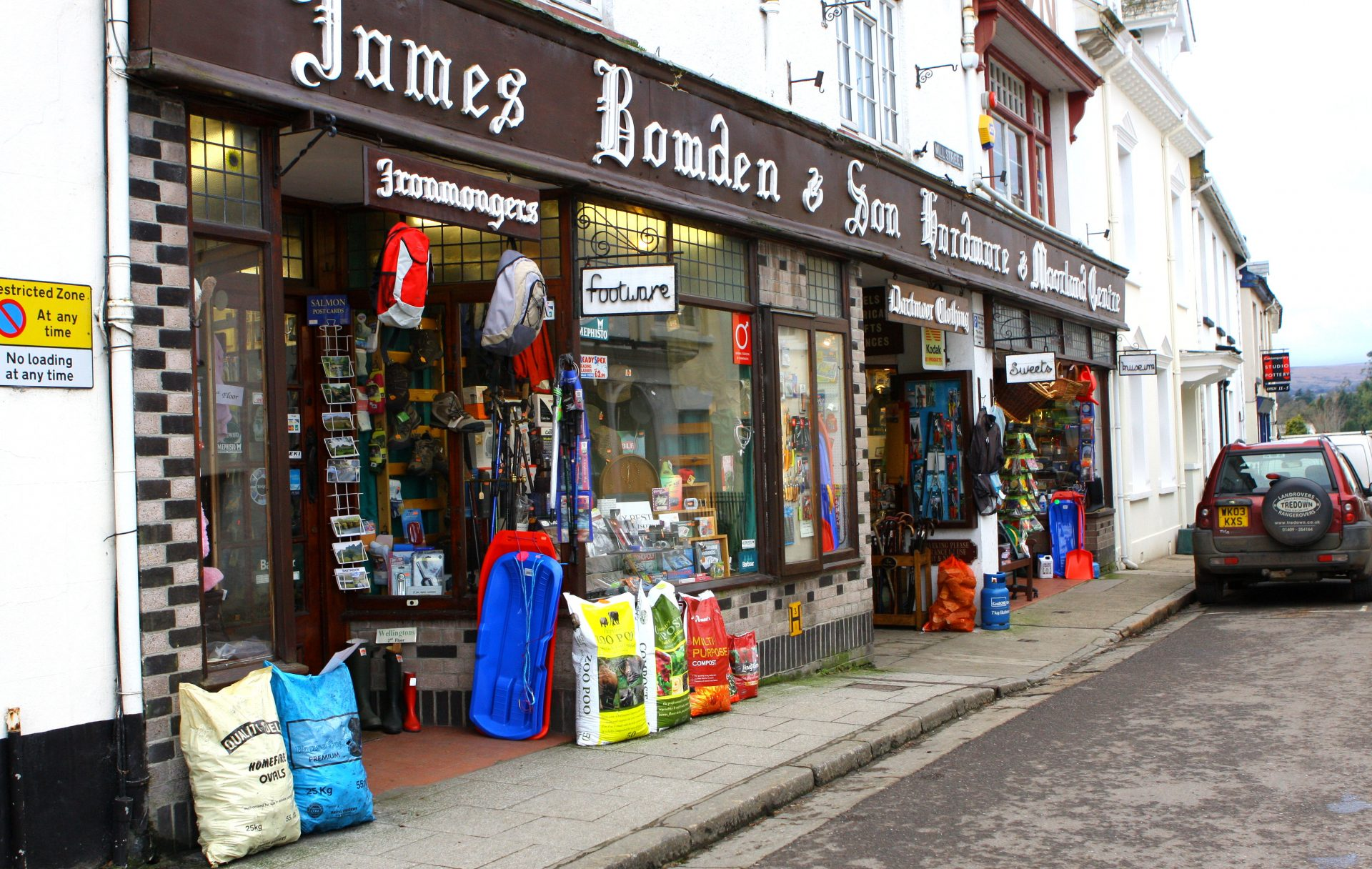 """Bowden's. the best Ironmongers ever. A lady in Times Sq. NY told me she was """"in the shop a week ago !"""""""