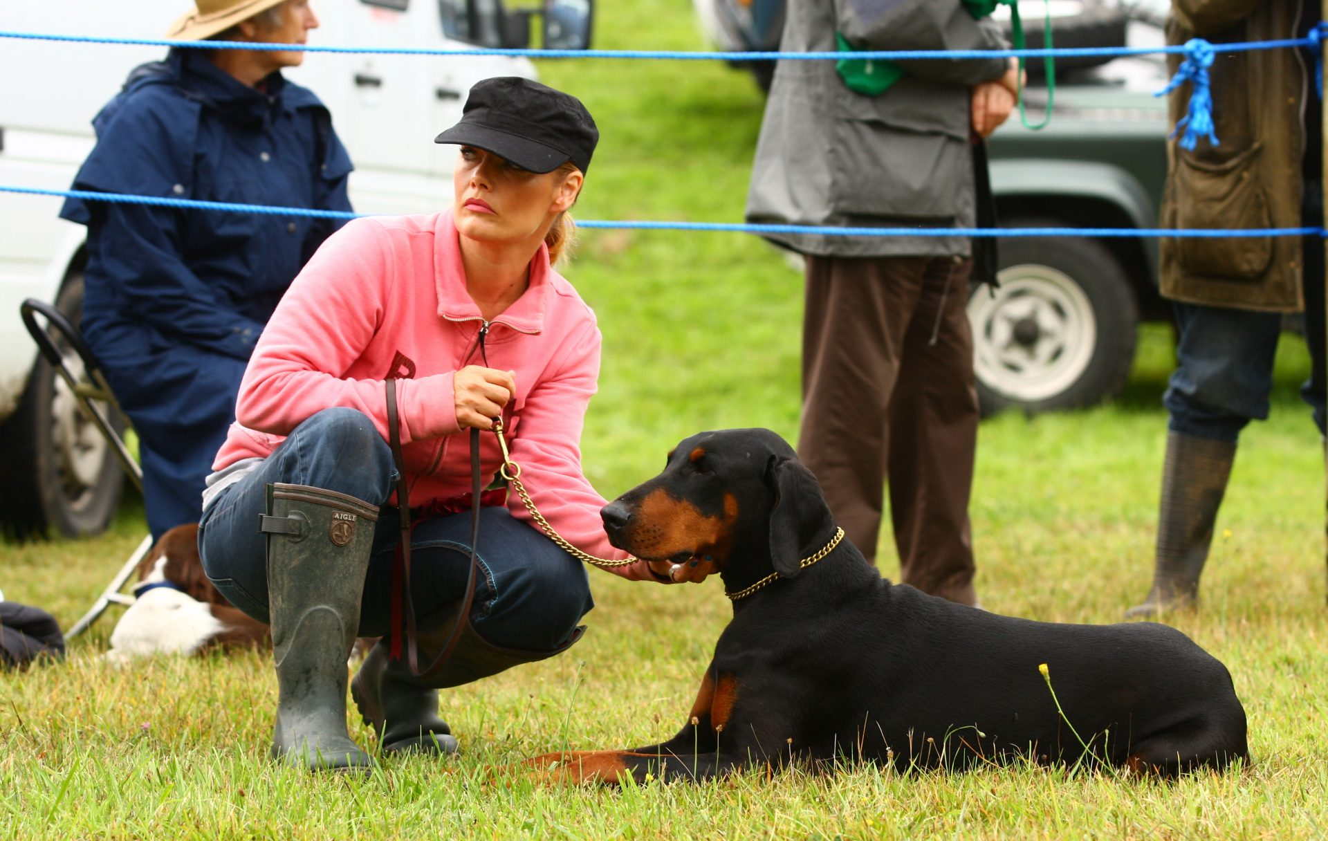 Another top dog at Chagford Show.