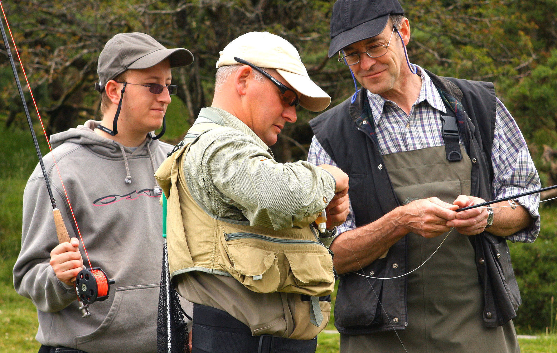 Plenty of fishing to be had on Dartmoor. But don't forget that you will need a current licence.