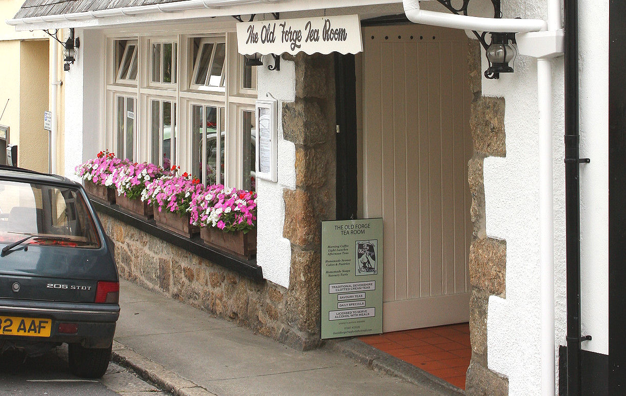 The Old Forge, when Phil and Colin used to run it. Everyone's favourite tearoom.