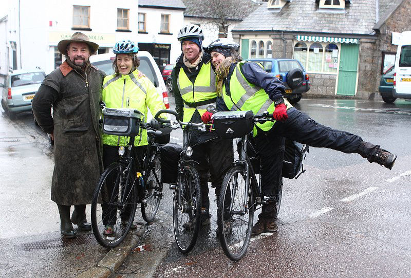 This I seem to remember was a bike ride to London ?? For charity.