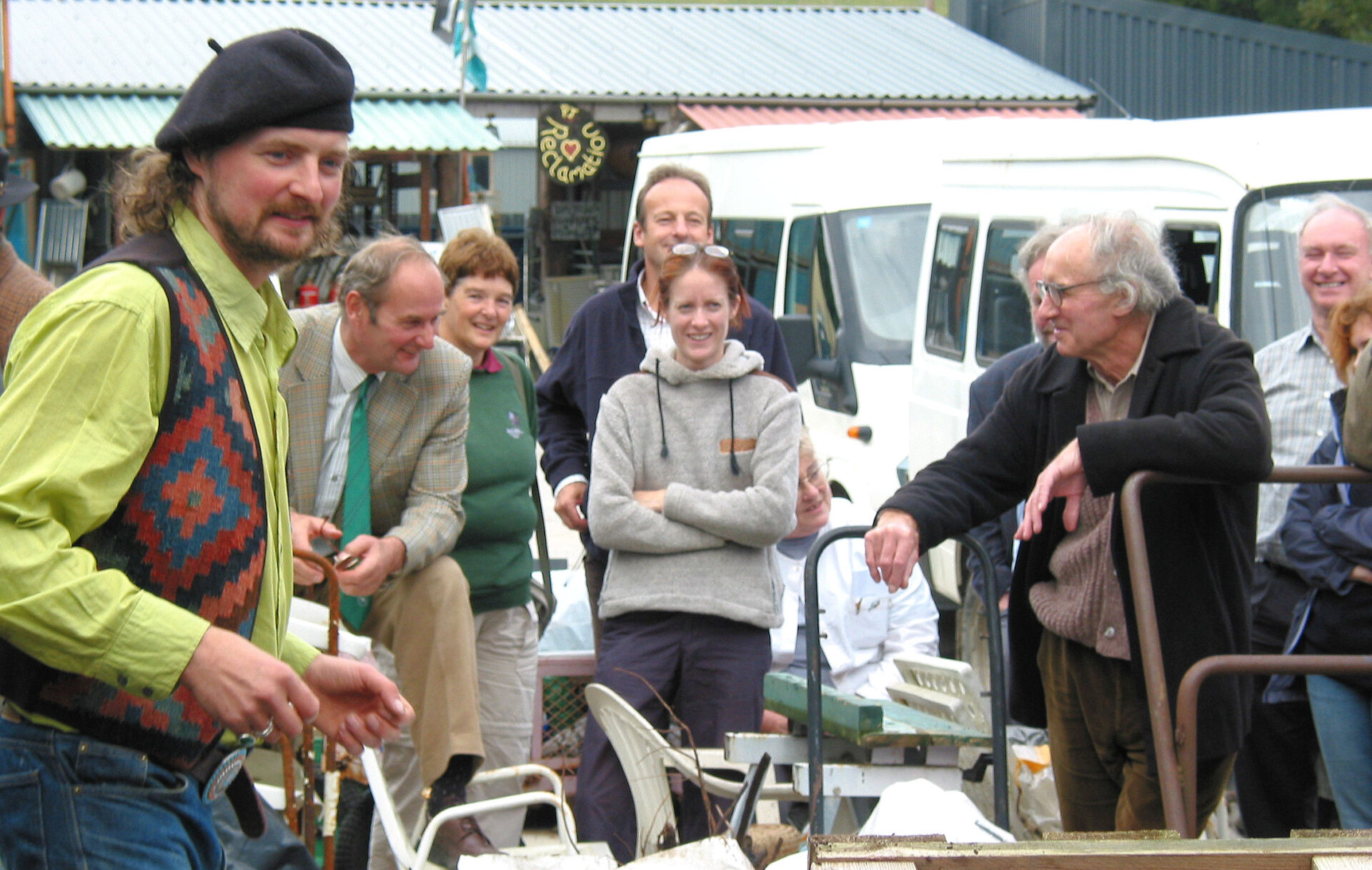 Proper Job in 2006. I forget the name of this chap. Can someone tell me please ?