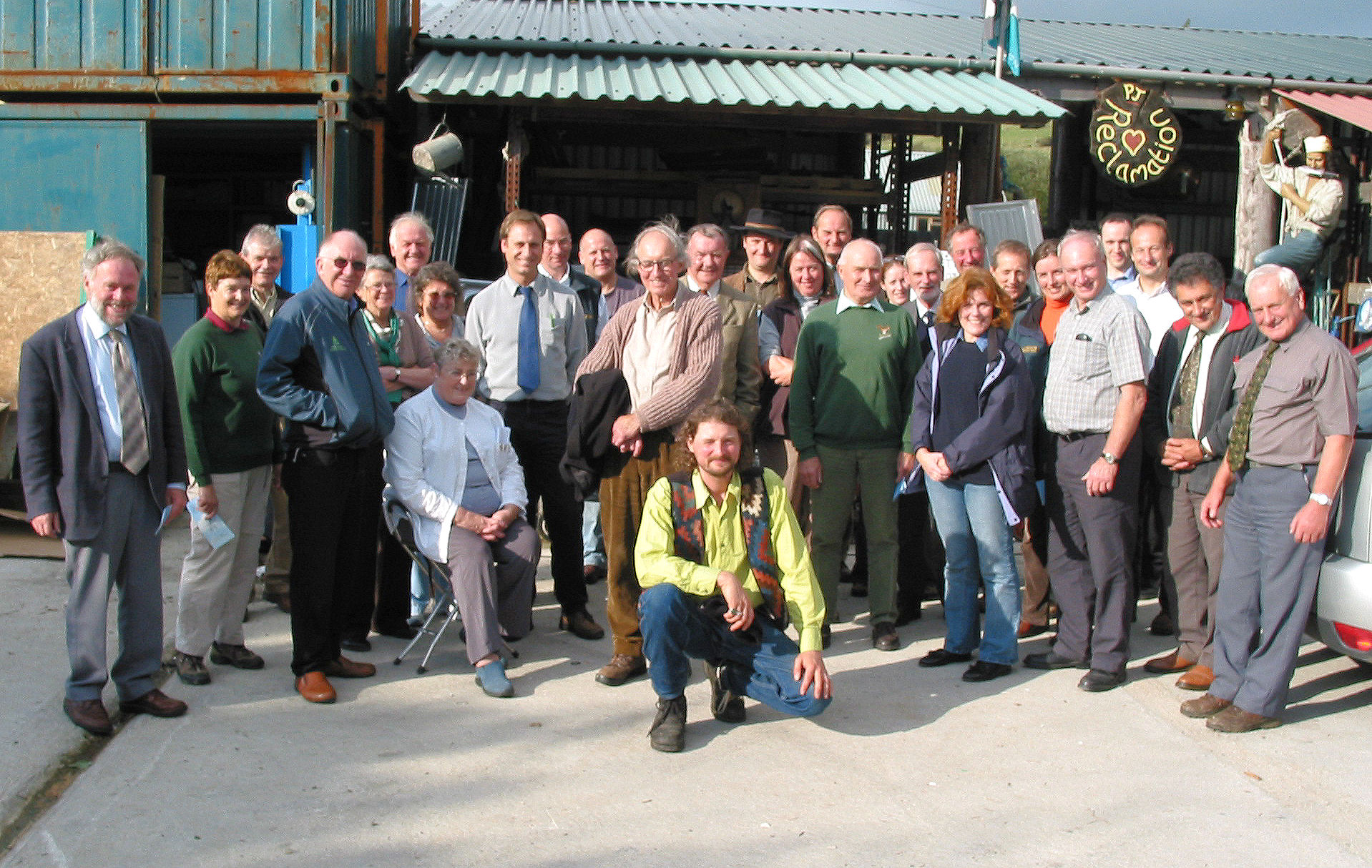 I was asked by the Okehampton Times to go along and take a group pic. Note the pirate in the top right of the shot.