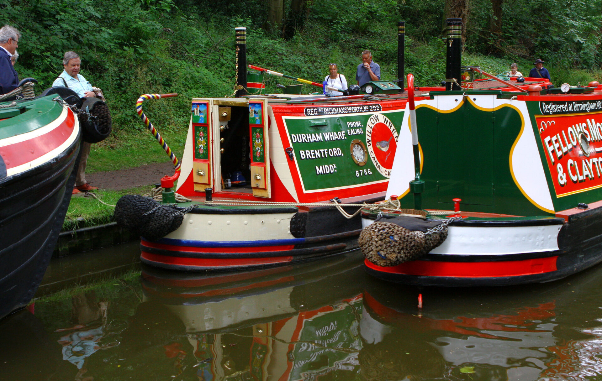 Gnosall 2019 I think. Lots of traditional boats on show. A great family day out.