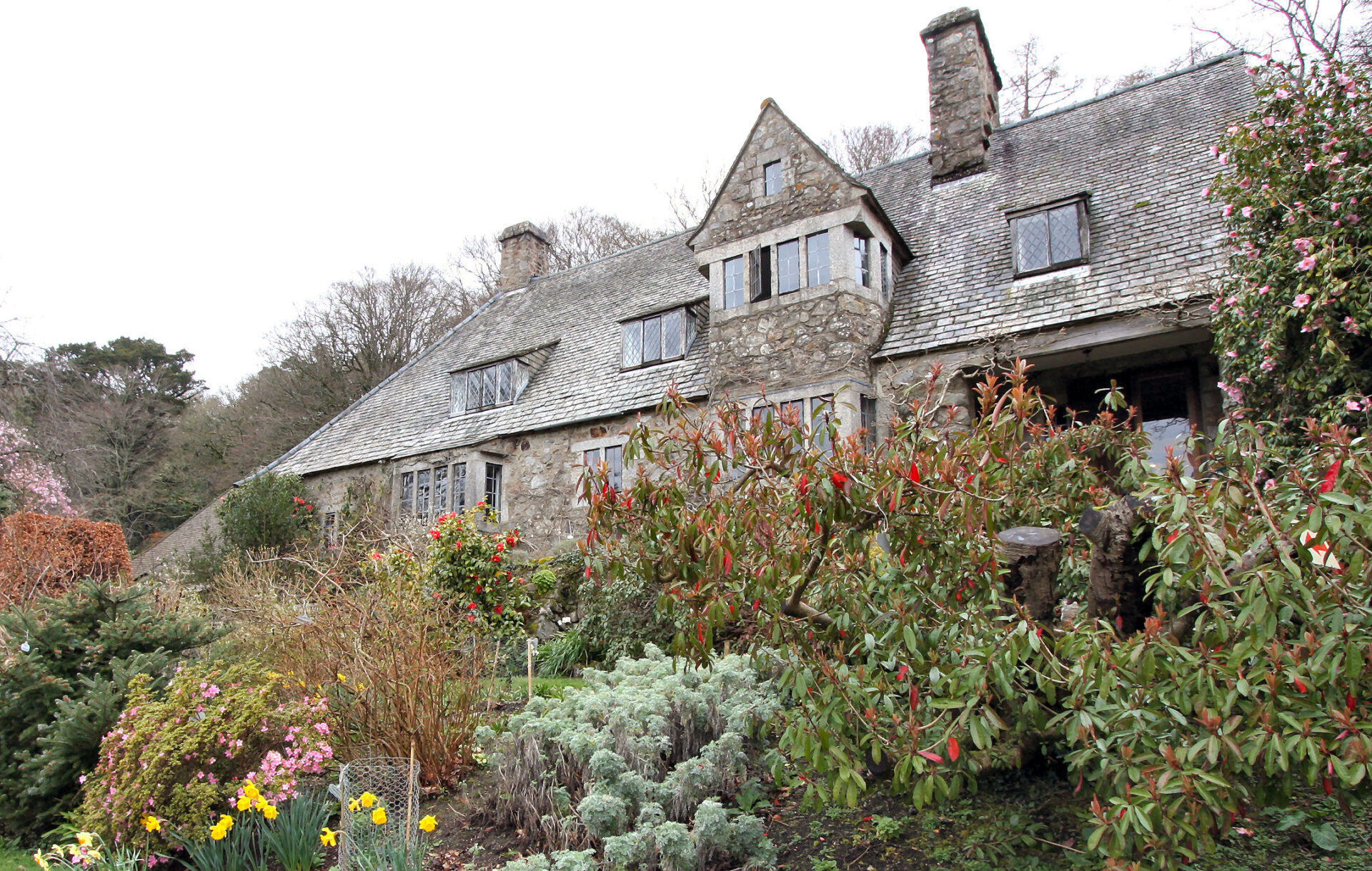 Just one of the many spectacular Dartmoor gardens that open for charity each year.
