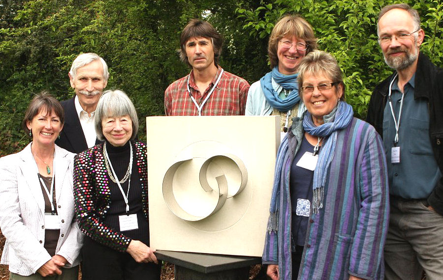 June Ashburner at the reopening of Stone Lane gardens (Mythic Gardens) in 2011.